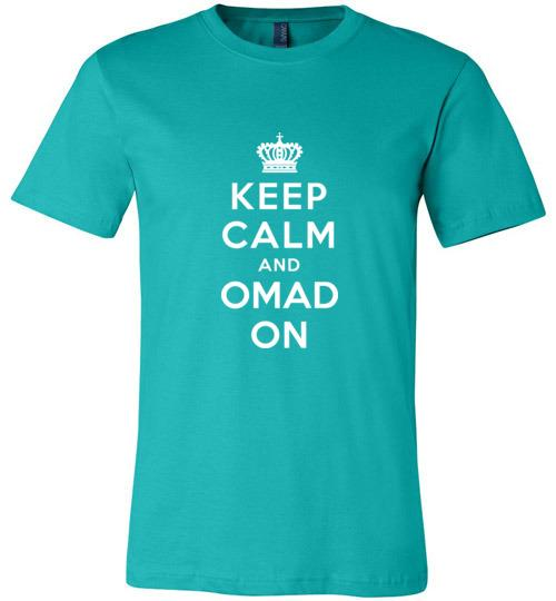 OMAD Fasting T-Shirt, Canvas Unisex Tee - Kari Yearous Photography WinonaGifts KetoGifts LoveDecorah