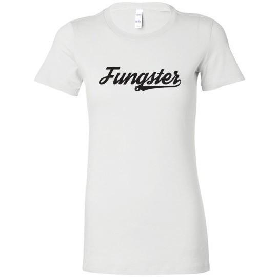 Fasting Fungster Ladies T-Shirt, Dark on Light, Bella Ladies Favorite Tee
