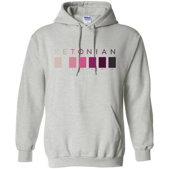 Keto Shirt, Ketones Test Strip Colors -- Click for More Styles - Kari Yearous Photography KetoLaughs