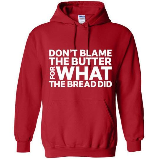 Keto Hoodie Don't Blame The Butter - Kari Yearous Photography WinonaGifts KetoGifts LoveDecorah