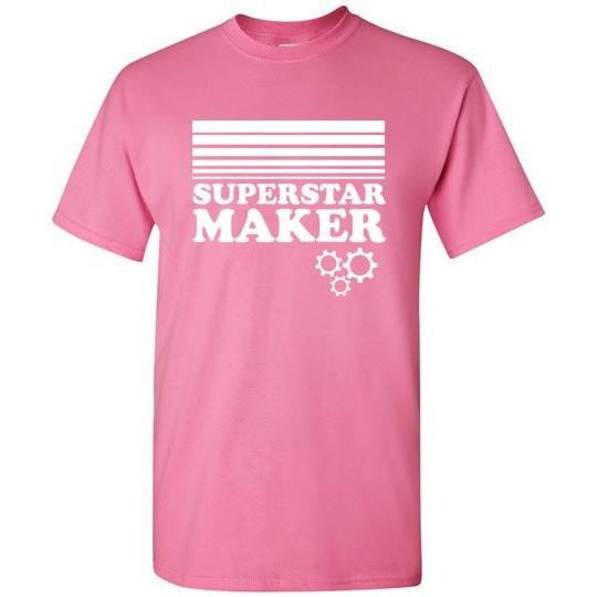 Superstar Maker Shirt, Adult Sizes, Gildan Short Sleeve - Kari Yearous Photography WinonaGifts KetoGifts LoveDecorah