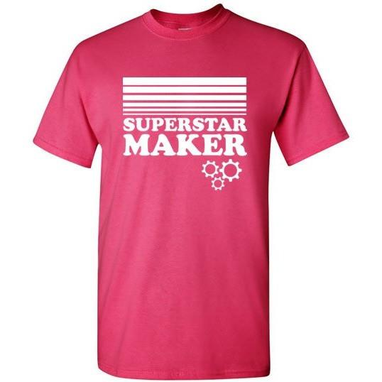 Superstar Maker Shirt, Adult Sizes, Gildan Short Sleeve
