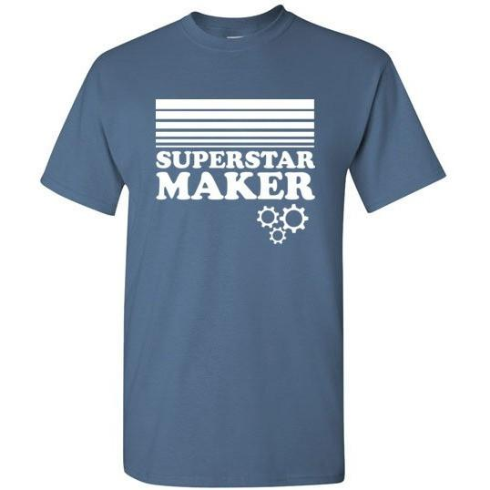 Superstar Maker Shirt, Adult Sizes, Gildan Short Sleeve - Kari Yearous Photography KetoLaughs