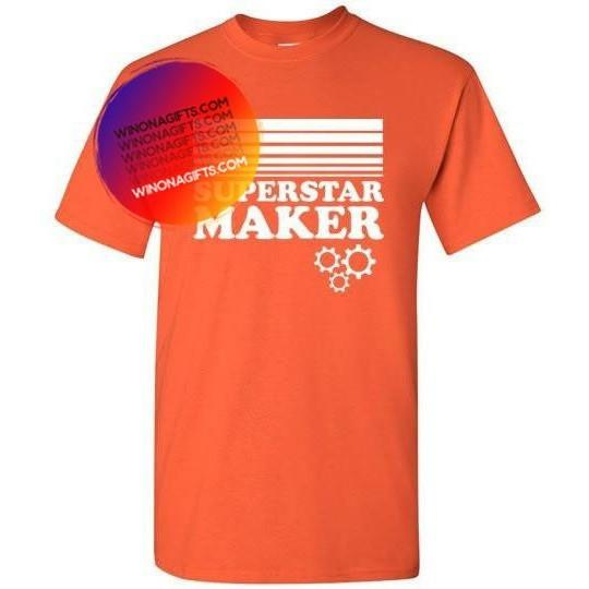Superstar Maker Shirt for Creative Kids, Youth Sizes