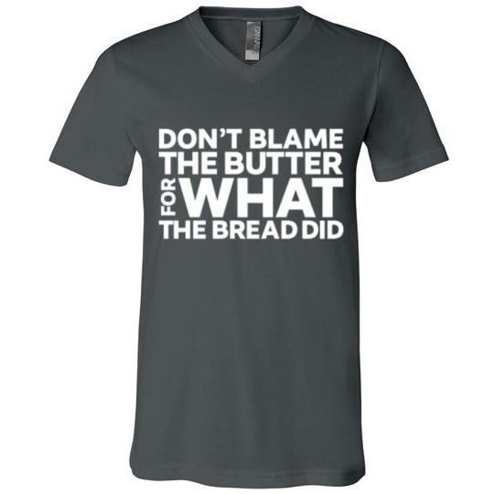 Keto T-Shirt Don't Blame The Butter, Light On Dark