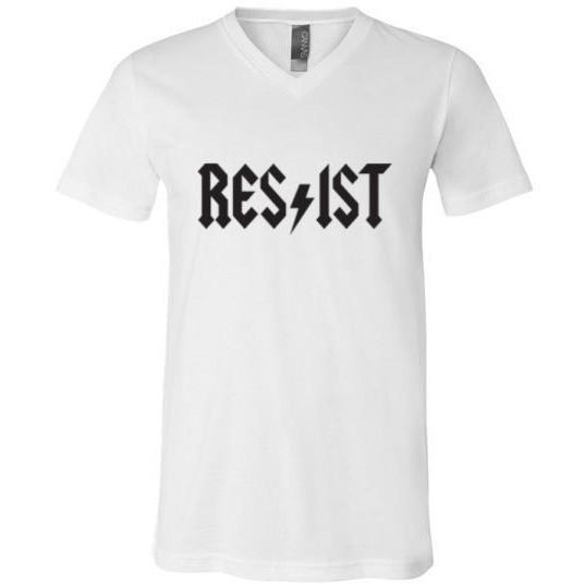 Resist T-Shirt ACDC Style