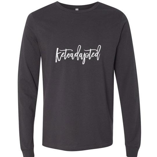 Keto Hoodie Ketoadapted Light on Dark - Kari Yearous Photography WinonaGifts KetoGifts LoveDecorah