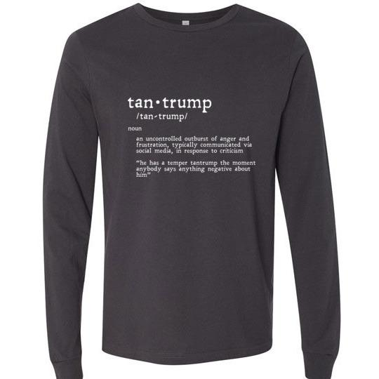 Tantrump Long-Sleeve T-Shirt - Kari Yearous Photography KetoLaughs