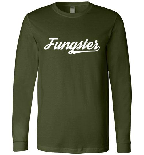 Fungster T-Shirt, Canvas Long-Sleeve Shirt - Kari Yearous Photography WinonaGifts KetoGifts LoveDecorah