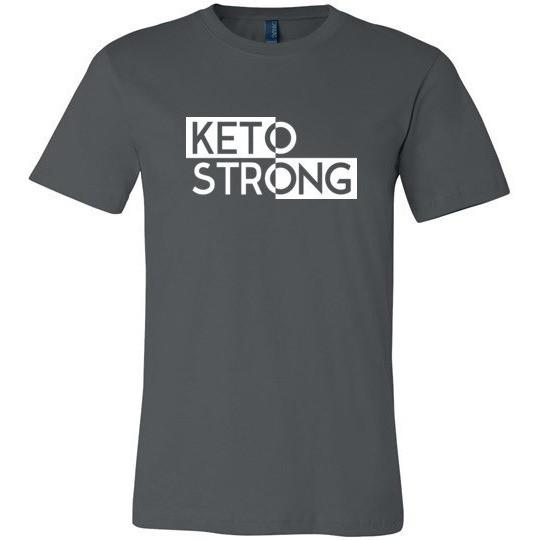 Keto T-Shirt Keto Strong, Canvas Unisex T-Shirt - Kari Yearous Photography WinonaGifts KetoGifts LoveDecorah