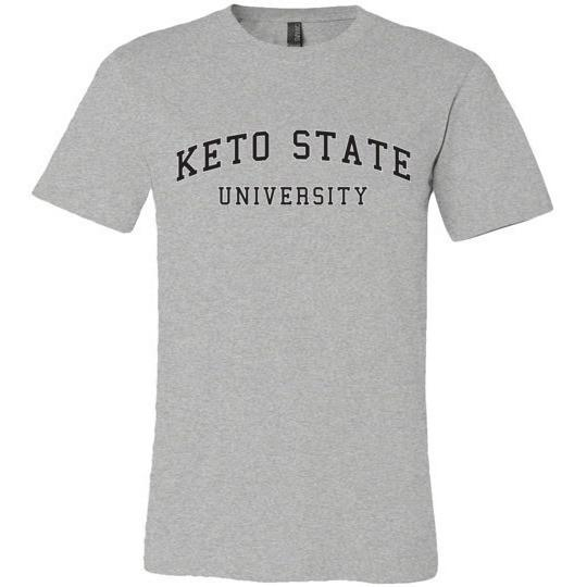 Keto T-Shirt Keto State University, Canvas Unisex T-Shirt