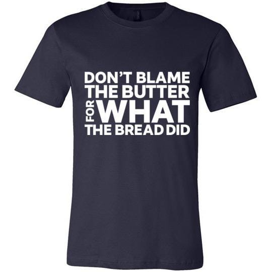 Keto T-Shirt Don't Blame The Butter, Light On Dark - Kari Yearous Photography WinonaGifts KetoGifts LoveDecorah