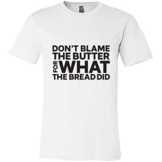 Keto T-Shirt Don't Blame The Butter - Kari Yearous Photography WinonaGifts KetoGifts LoveDecorah