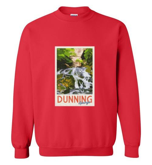 Decorah Iowa Sweatshirt Vintage Dunning Springs - Kari Yearous Photography WinonaGifts KetoGifts LoveDecorah