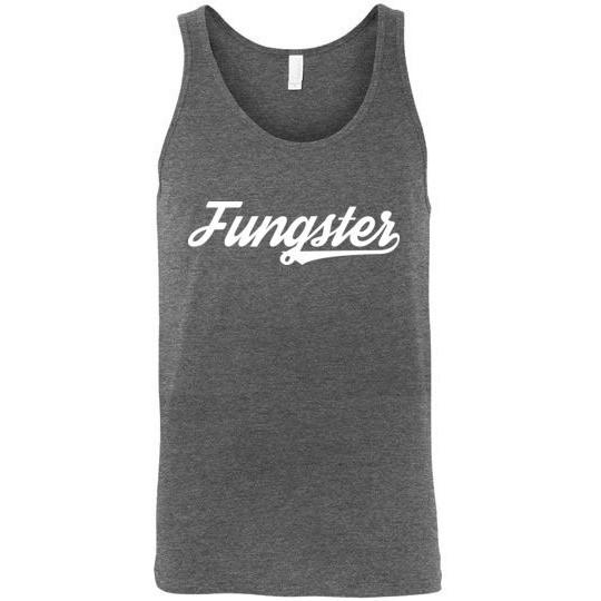 Fasting Fungster Tank Top, Canvas Unisex Tank - Kari Yearous Photography WinonaGifts KetoGifts LoveDecorah