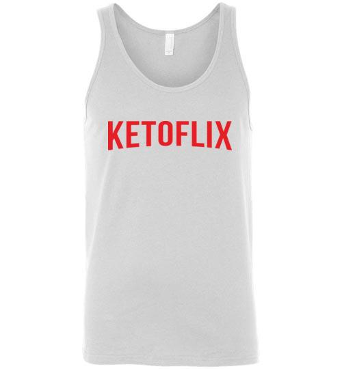 Keto Netflix Tank Top Ketoflix, Unisex Tank - Kari Yearous Photography WinonaGifts KetoGifts LoveDecorah