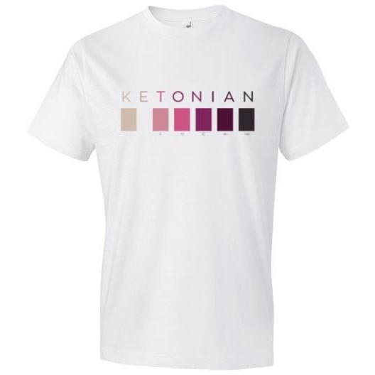 Keto Shirt, Ketones Test Strip Colors -- Click for More Styles - Kari Yearous Photography WinonaGifts KetoGifts LoveDecorah