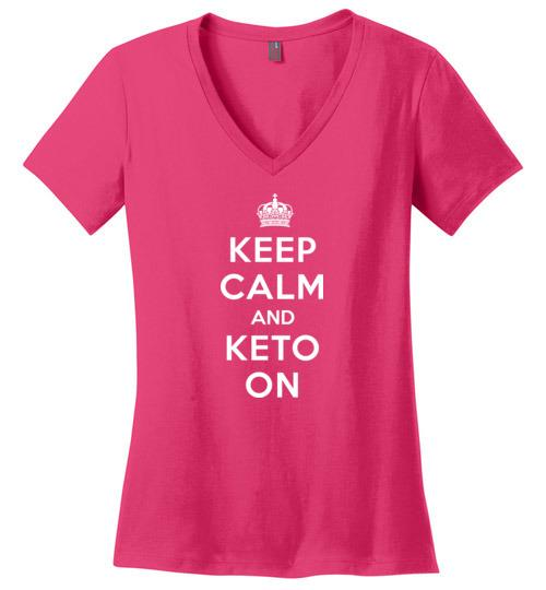 Keep Calm and Keto On Design