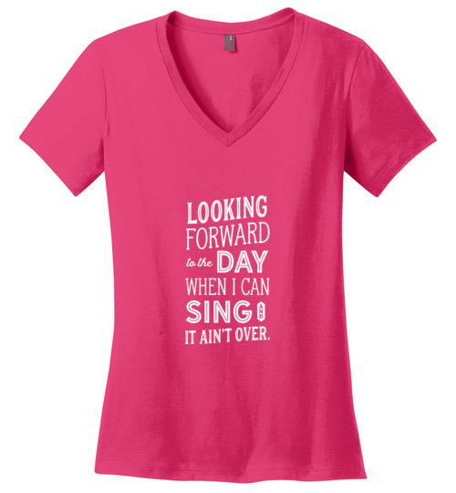 Inspirational Weight Loss Shirt, Ladies Perfect Weight V-Neck - Kari Yearous Photography WinonaGifts KetoGifts LoveDecorah