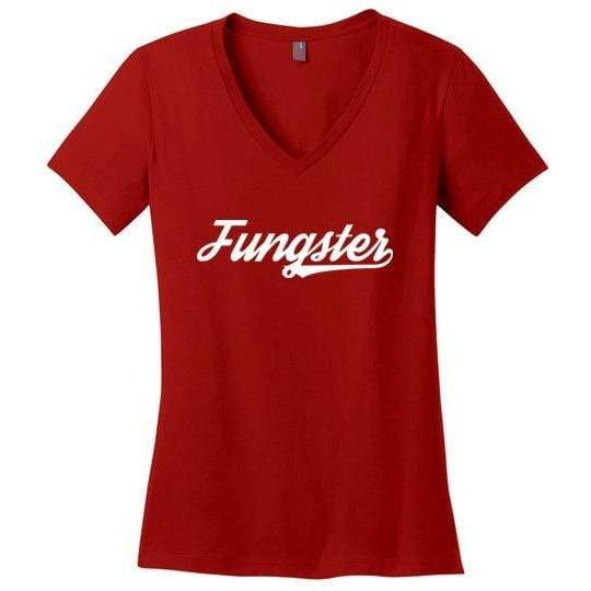 Fungster T-Shirt, Ladies Perfect Weight V-Neck Shirt - Kari Yearous Photography WinonaGifts KetoGifts LoveDecorah