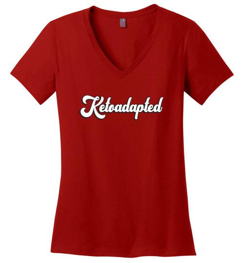 Womens Keto T-Shirt, Ketoadapted Shirt - Kari Yearous Photography WinonaGifts KetoGifts LoveDecorah