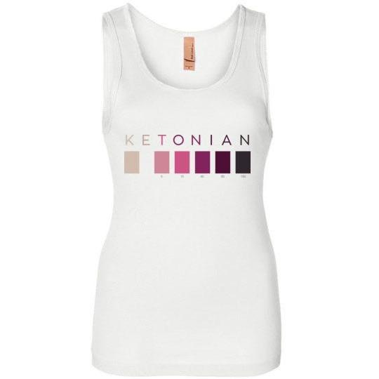 Women's Keto Shirt Ketonian Tank Top, Next Level