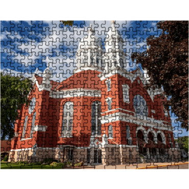 Winona Minnesota Puzzle St. Stanislaus Minor Basilica - Kari Yearous Photography KetoLaughs