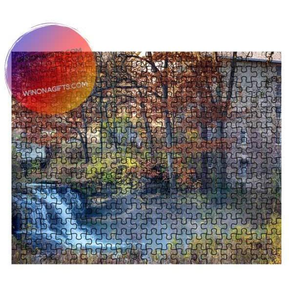 Pickwick Mill Puzzle Pickwick Minnesota - Kari Yearous Photography WinonaGifts KetoGifts LoveDecorah