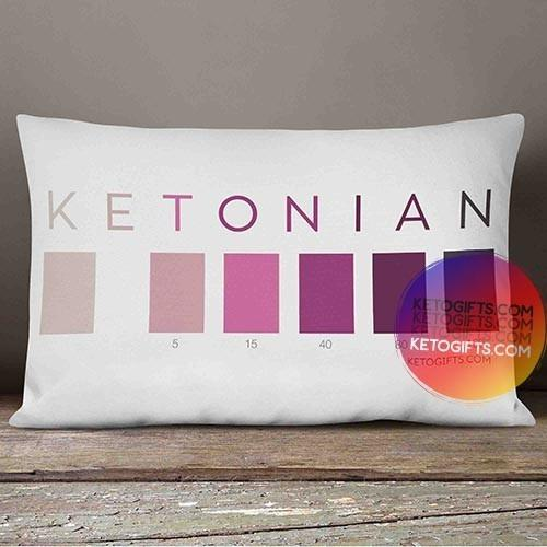 Keto Pillow Ketonian Test Strip Colors