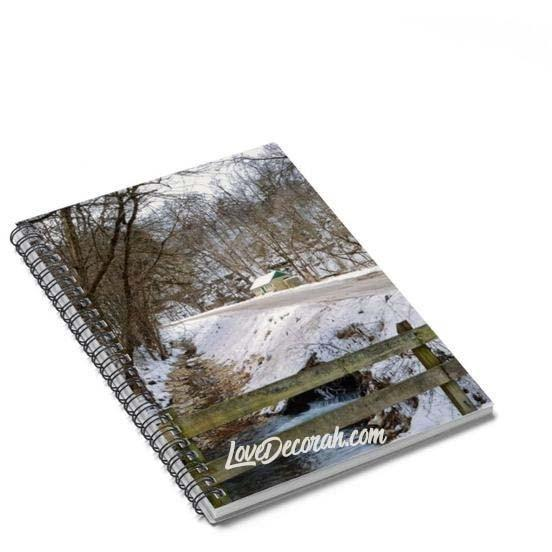 Spiral Notebook Twin Springs Decorah Iowa