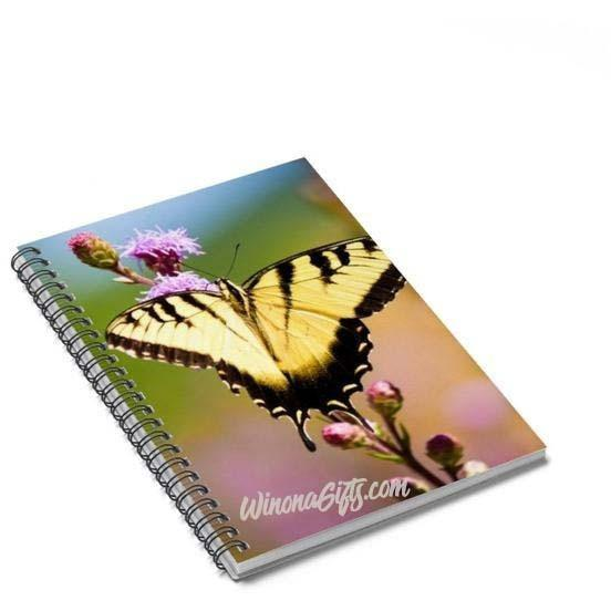 Spiral Notebook Tiger Swallowtail