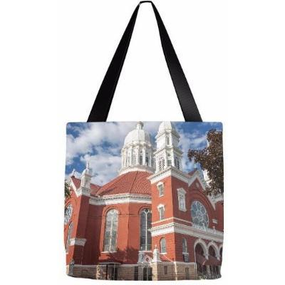 Tote Bag St Stan's Winona Minor Basilica Winona Minnesota - Kari Yearous Photography
