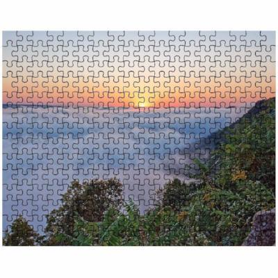 Puzzle Foggy Garvin Heights Sunrise Winona MN - Kari Yearous Photography WinonaGifts KetoGifts LoveDecorah