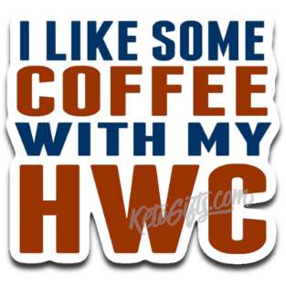 Keto Low-Carb Decal Coffee With My HWC