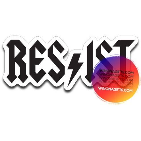 Resist Decal - Kari Yearous Photography WinonaGifts KetoGifts LoveDecorah