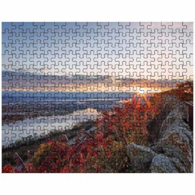 Puzzle Autumn Sunrise Garvin Heights Winona Minnesota - Kari Yearous Photography KetoLaughs