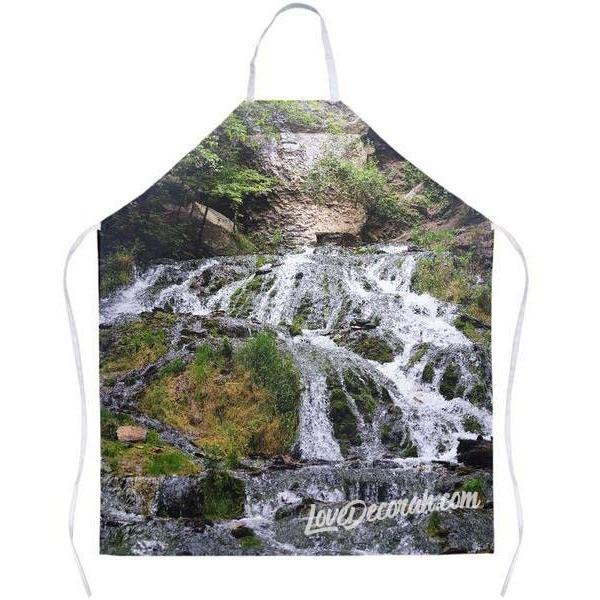 Decorah Iowa Photo Apron Dunning Springs