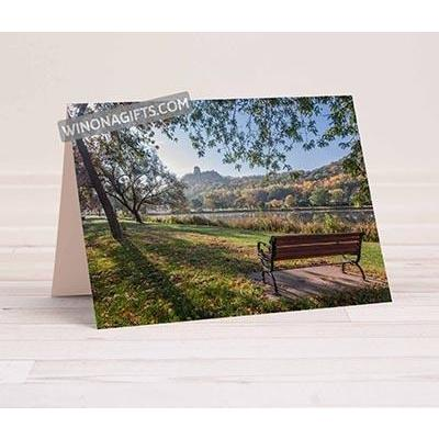 Winona Folded Notecard 5x7 Seat with a View, 5 pack - Kari Yearous Photography WinonaGifts KetoGifts LoveDecorah