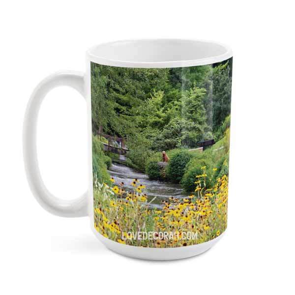 Decorah Mug Siewers Springs with Coneflowers - Kari Yearous Photography WinonaGifts KetoGifts LoveDecorah