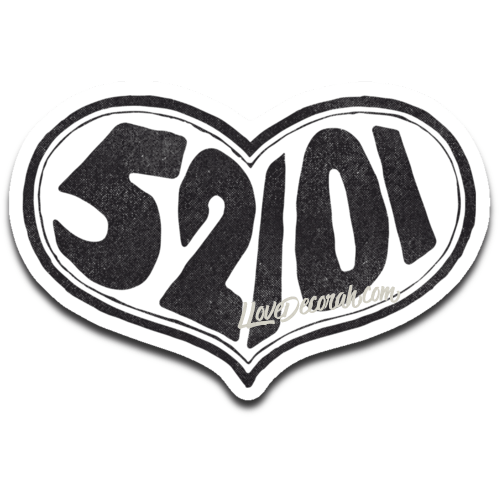 Decorah Decal 52101 Heart
