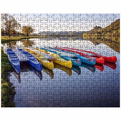 Puzzle Canoes at East Lake Winona Minnesota - Kari Yearous Photography WinonaGifts KetoGifts LoveDecorah