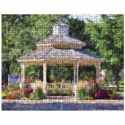 Puzzle Winona Minnesota Gazebo - Kari Yearous Photography WinonaGifts KetoGifts LoveDecorah