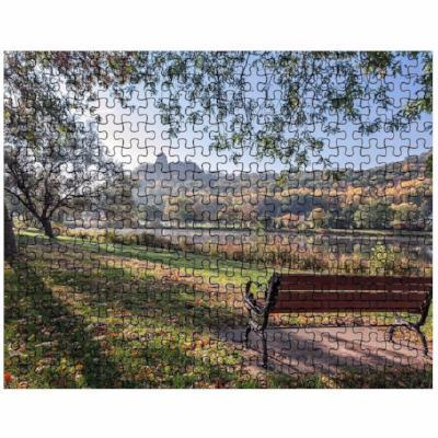 Winona Minnesota Puzzle Seat with a View of Sugarloaf Winona Minnesota - Kari Yearous Photography KetoLaughs