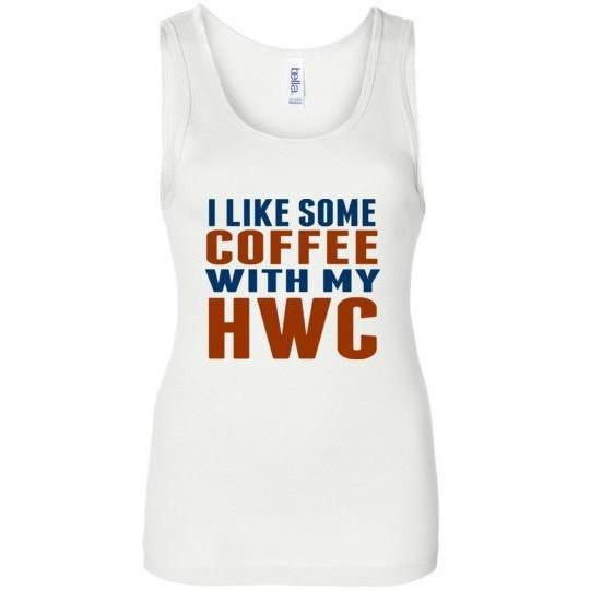 Keto Tank Top Shirt I Like Some Coffee With My HWC - Kari Yearous Photography KetoLaughs