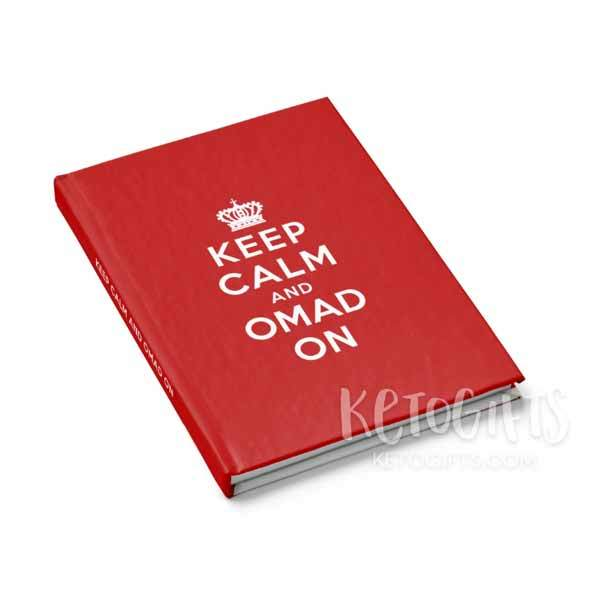 Fasting OMAD Journal, Keep Calm and OMAD On - Kari Yearous Photography WinonaGifts KetoGifts LoveDecorah