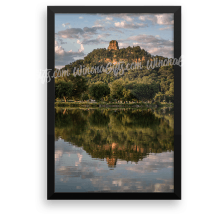 Framed Poster Sugarloaf Reflection - Kari Yearous Photography KetoLaughs