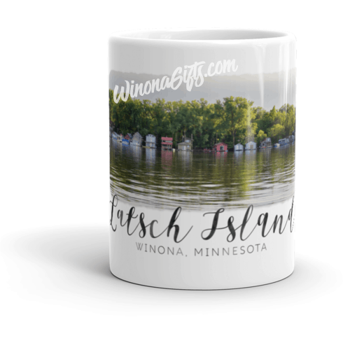 Mug Latsch Island Winona MN - Kari Yearous Photography WinonaGifts KetoGifts LoveDecorah