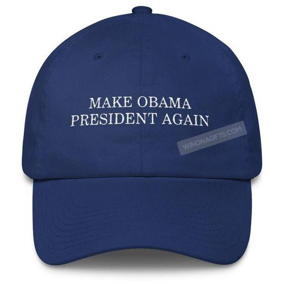 Cotton Cap Make Obama President Again - Kari Yearous Photography KetoLaughs