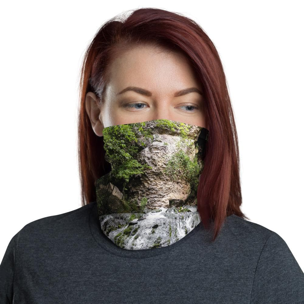 Neck gaiter Dunning Springs Decorah Iowa - Kari Yearous Photography WinonaGifts KetoGifts LoveDecorah