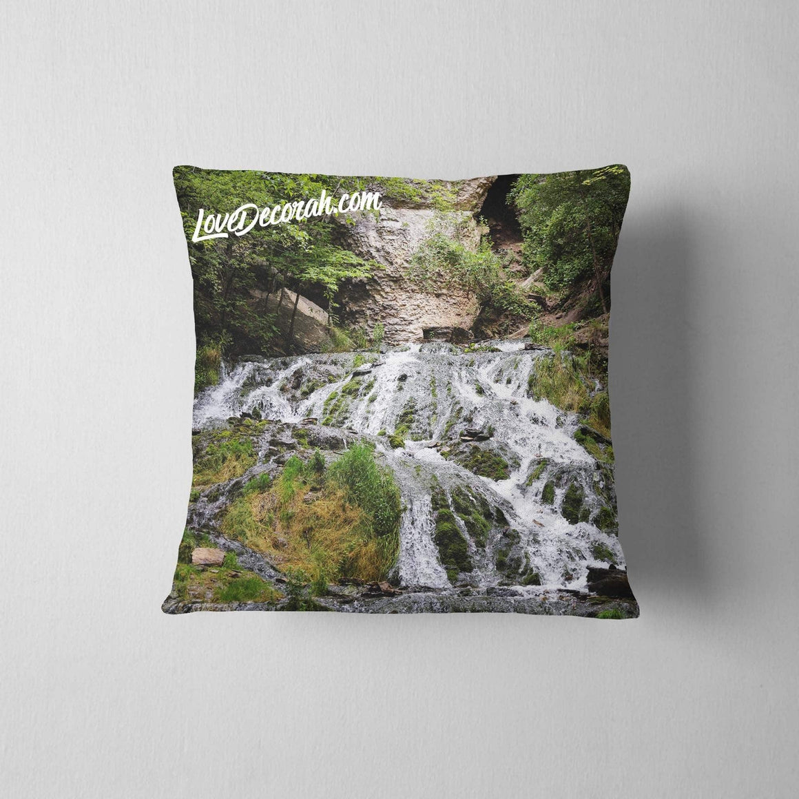 Pillow Dunnings Springs in Decorah Iowa - Kari Yearous Photography WinonaGifts KetoGifts LoveDecorah